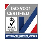 British Assessment Bureau ISO 9001 Certified