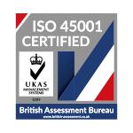British Assessment Bureau ISO 45001 Certified